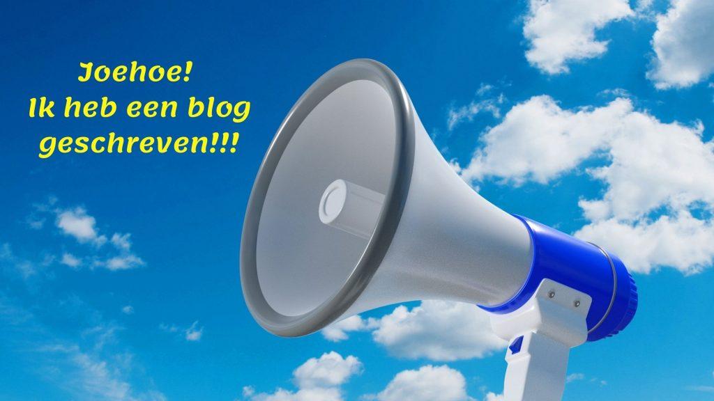 hoe promoot je je blog